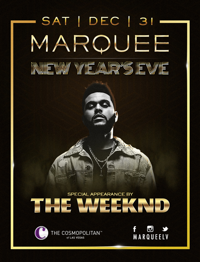 The Weekend Marquee NYE 2016