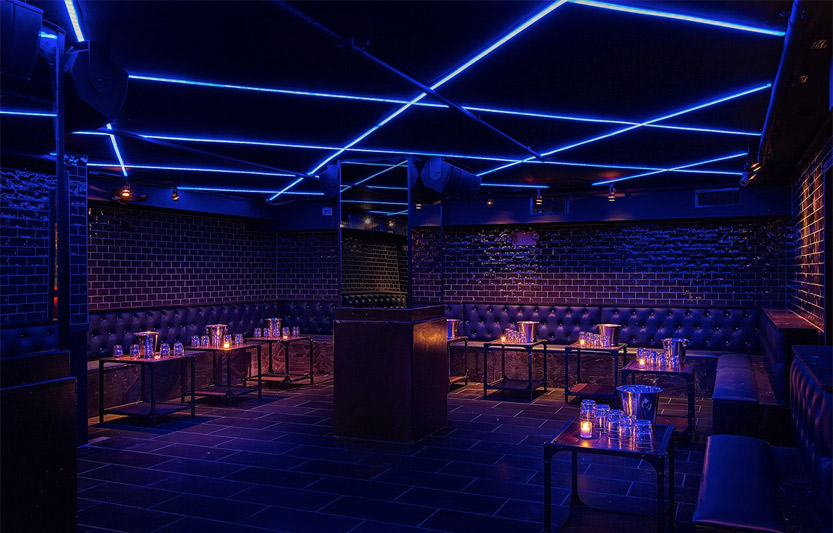 Dance floor at Hotel Chantelle - New York City nightclub