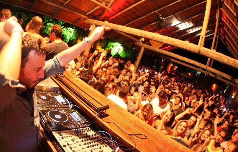 DJ &dance floor at Treehouse Miami