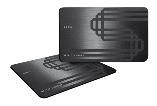 SELECT Black Card