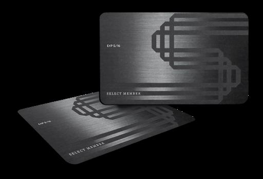 SELECT Black Card