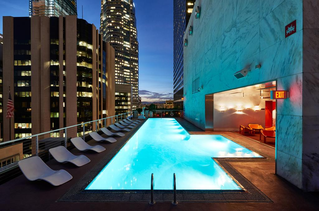 Large pool at The Standard Download Los Angeles