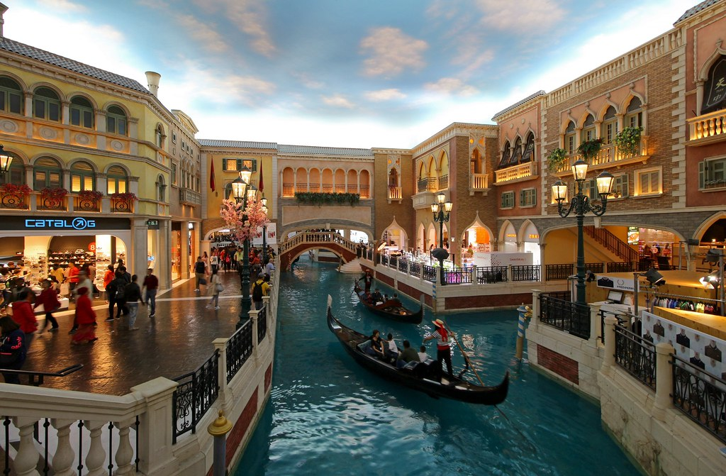 Canals at Venetian Las Vegas
