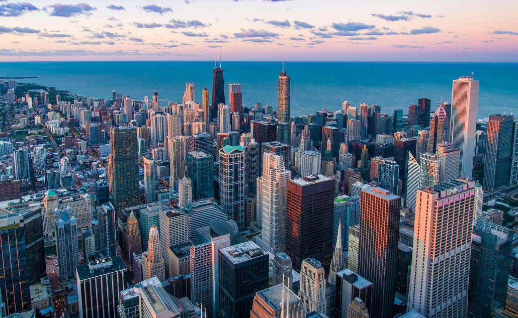 Chicago Windy City View
