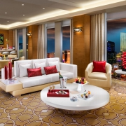 luxury hotel suite interior Las Vegas