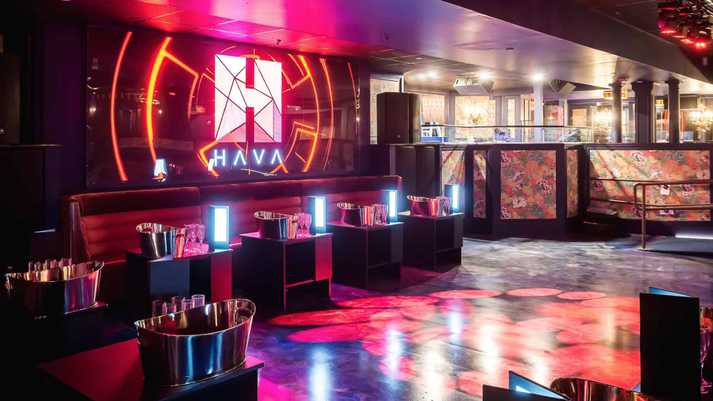 Table reservations and booths at HAVA Boston