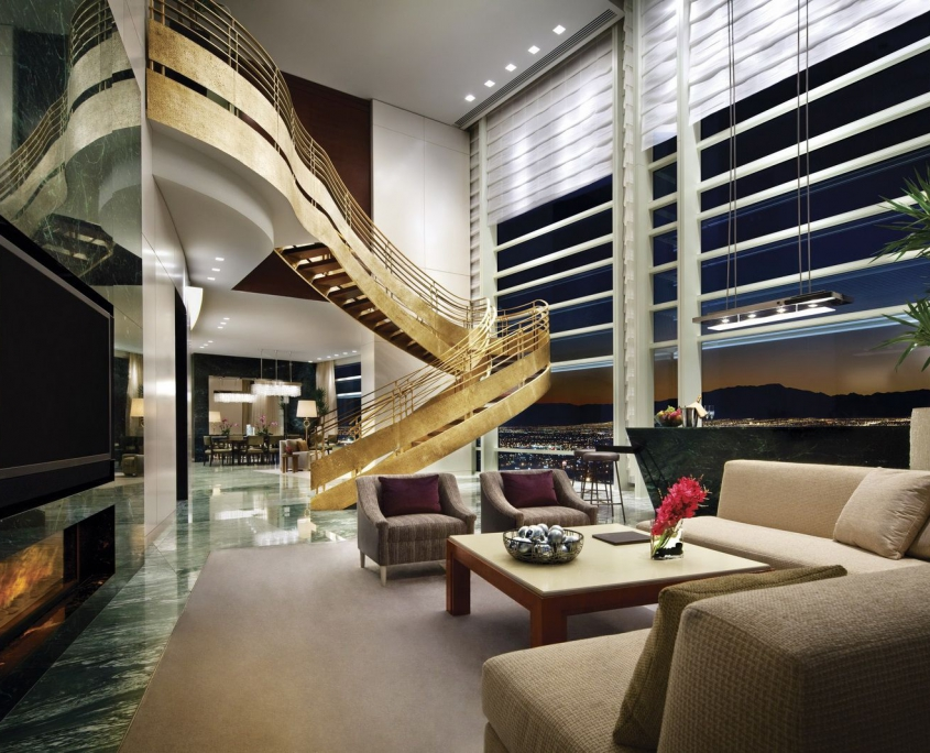 Aria Sky Suites villa interior