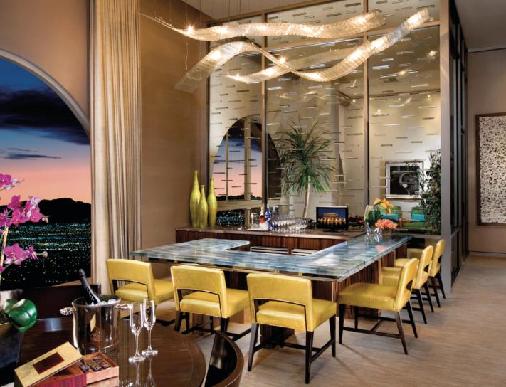 chairman suite at bellagio resort & casino, las vegas