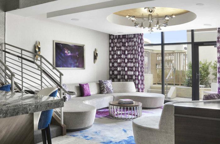 Penthouse bungalow interior,  Cosmopolitan Las Vegas