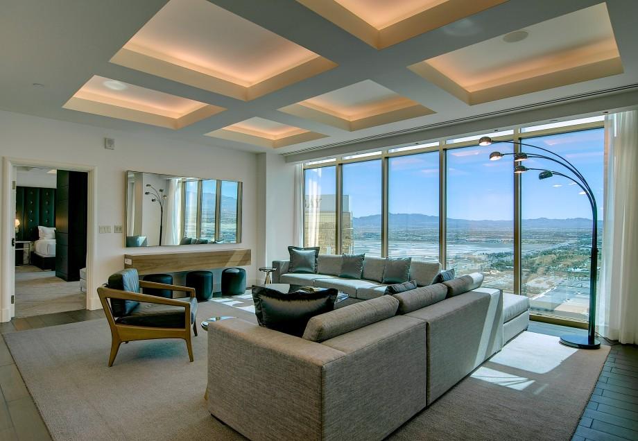Penthouse suite at Delano