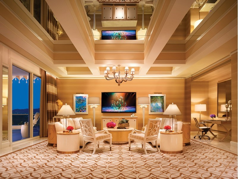 interior of Wynn fairway villa