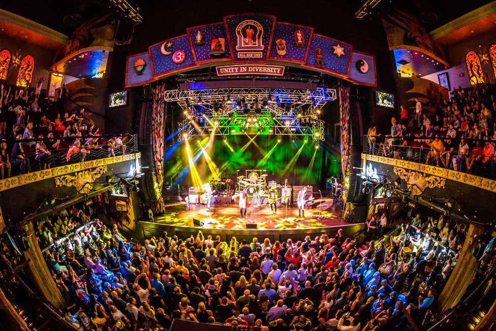 Evening concert at House of Blues, Mandalay Bay, Las Vegas