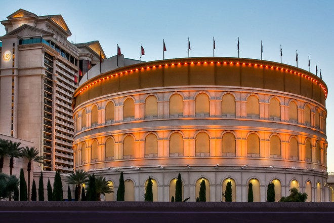 Colosseum live concert venue at Caesars' Palace