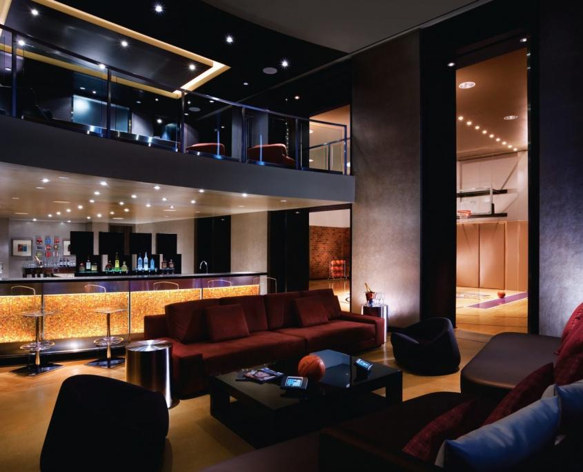 Interior of Palms Hardwood Suite in Las Vegas