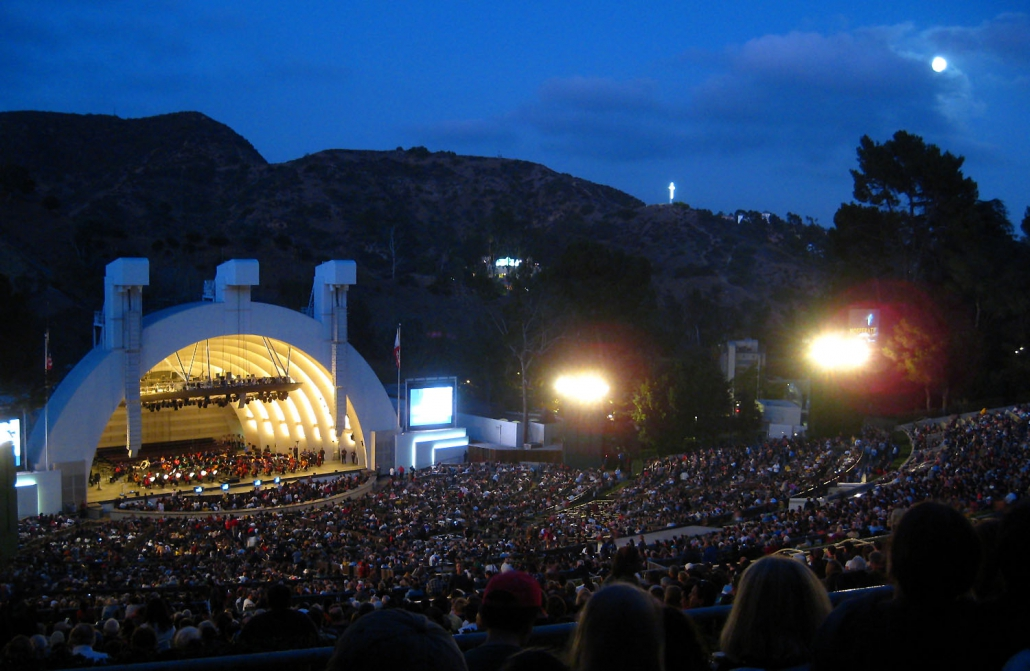 Hollywood Bowl outdoors - Los Angeles, CA