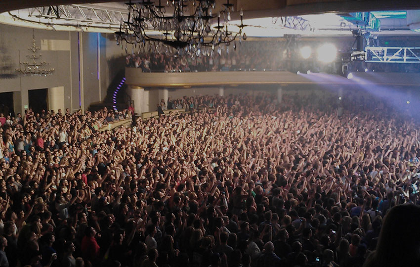 Crowd at Palladium, Los Angeles