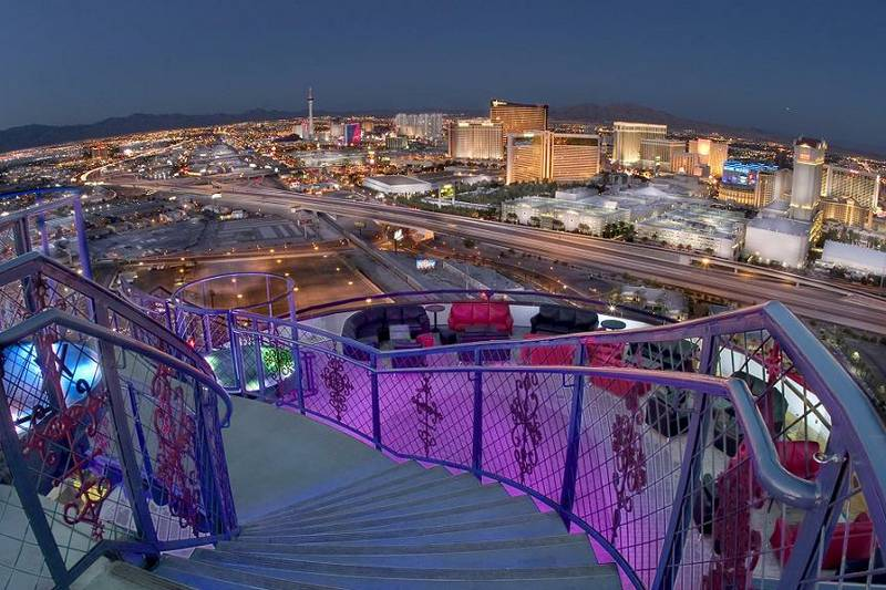 Views of Strip from Voodoo Lounge, Las Vegas