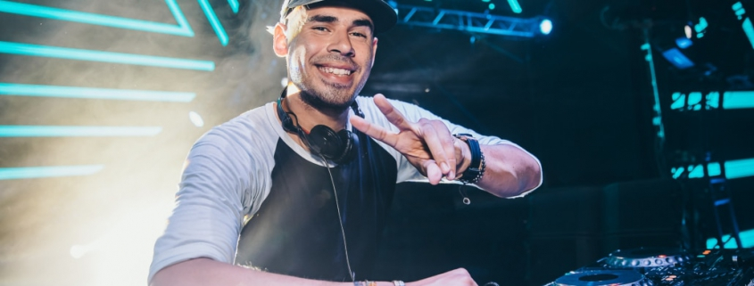 Afrojack performing