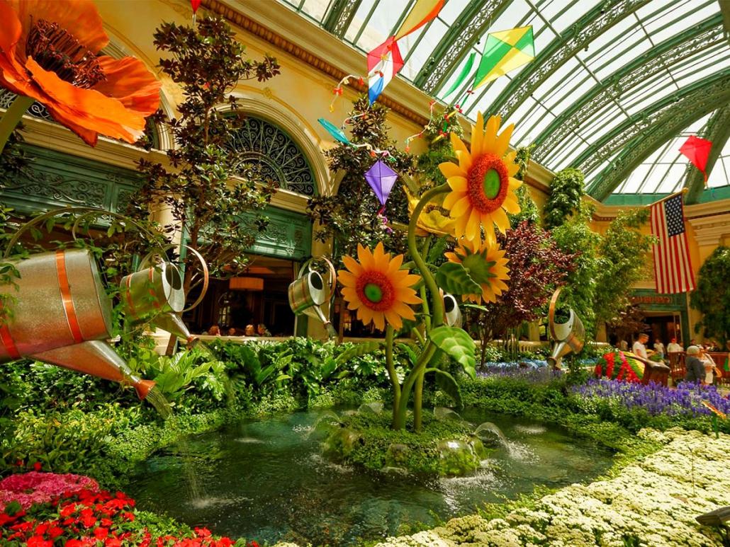 Bellagio Botanical Gardens & Conservatory