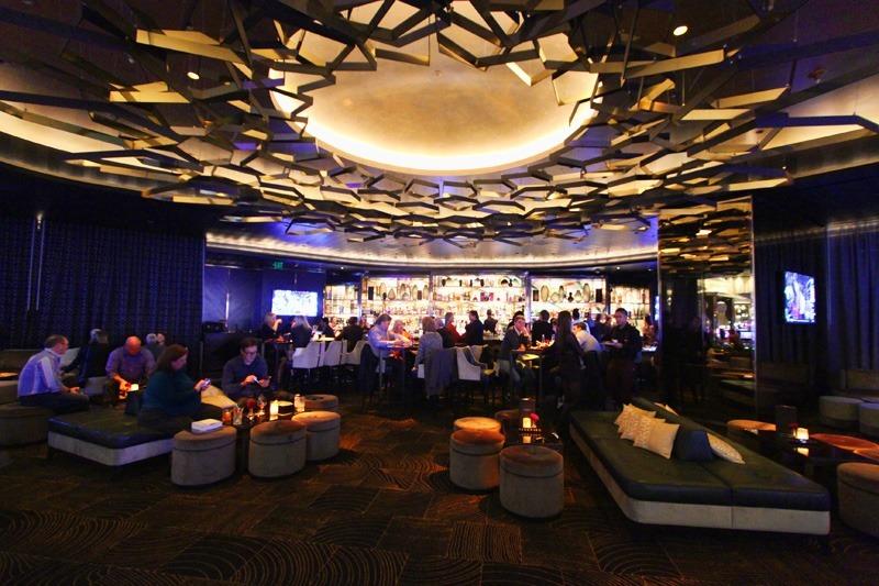 Inside of Clique Lounge @ Cosmopolitan, Las Vegas, Nevada