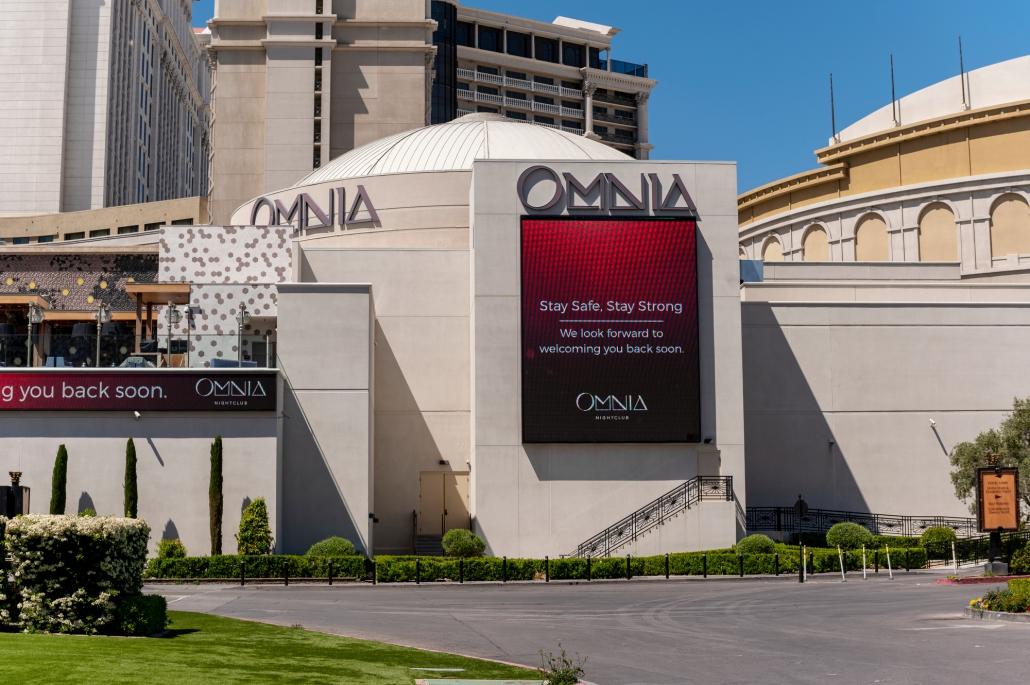 omnia las vegas closed coronavirus