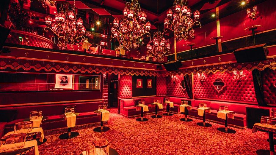 Raspoutine Nightclub dance floor - Los Angeles, CA