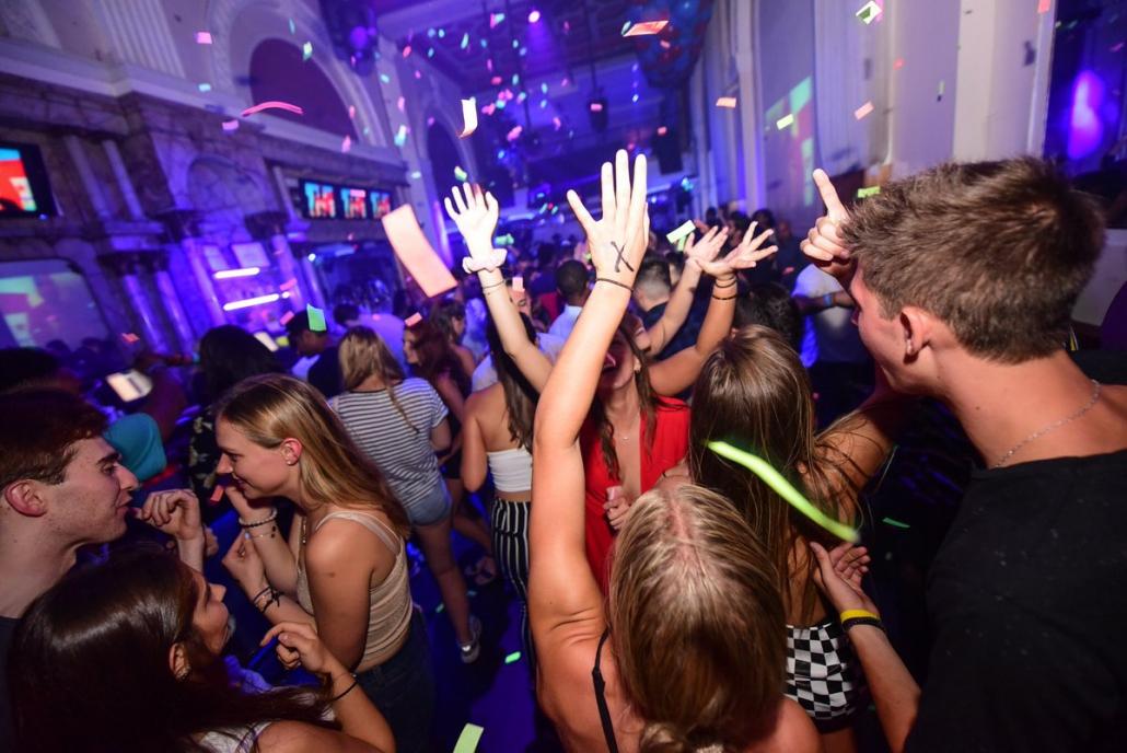 Dance floor at Ultrabar Washington DC