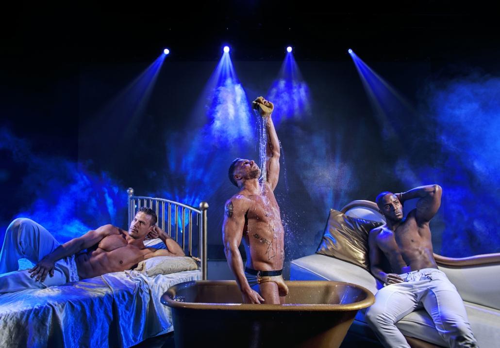 Chippendale's Male Revue show, Las Vegas, Nevada