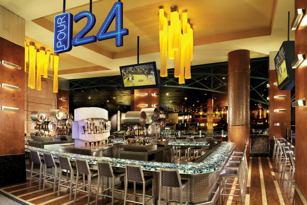 Pour 24 Craft beer bar @ New York, New York Casino - Las Vegas, Nevada