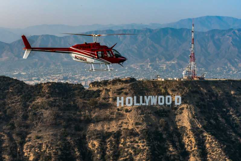 Hollywood Helicopter Tour - Los Angeles, CA