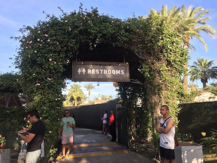 Coachella VIP Bathrooms