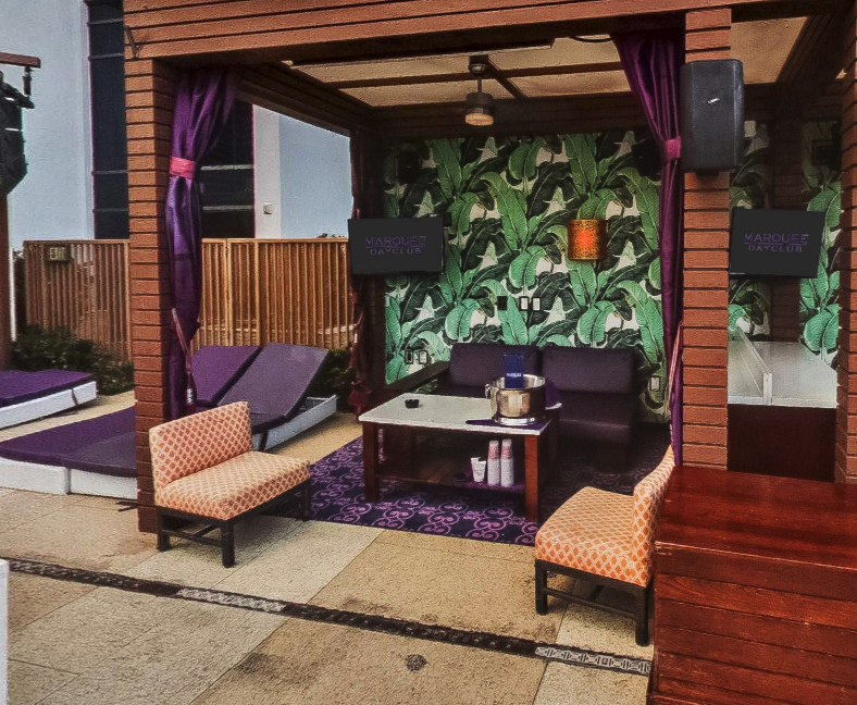 Marquee Dayclub Bungalow