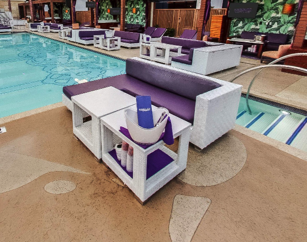 Marquee Dayclub Poolside Couch