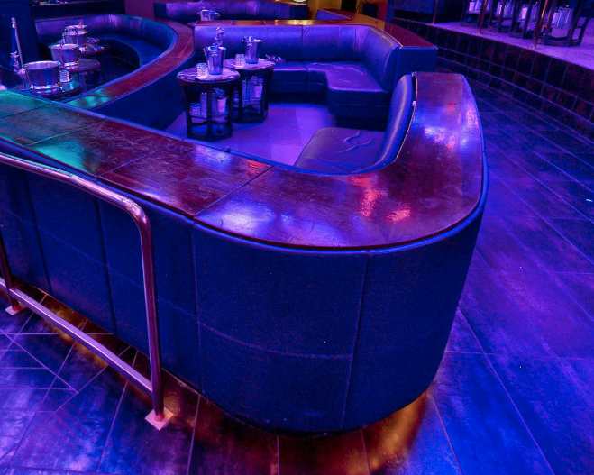 Marquee Nightclub Upper Dance Floor Table