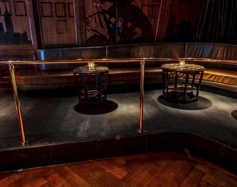 Marquee Nightclub Boombox Table