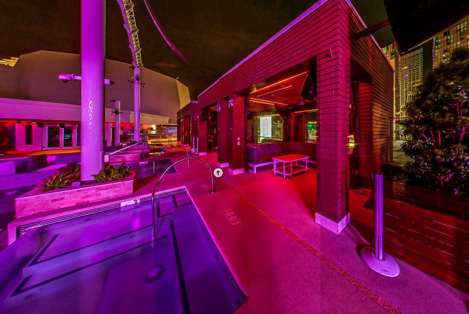 Marquee Nightclub Outdoor Grand Cabana