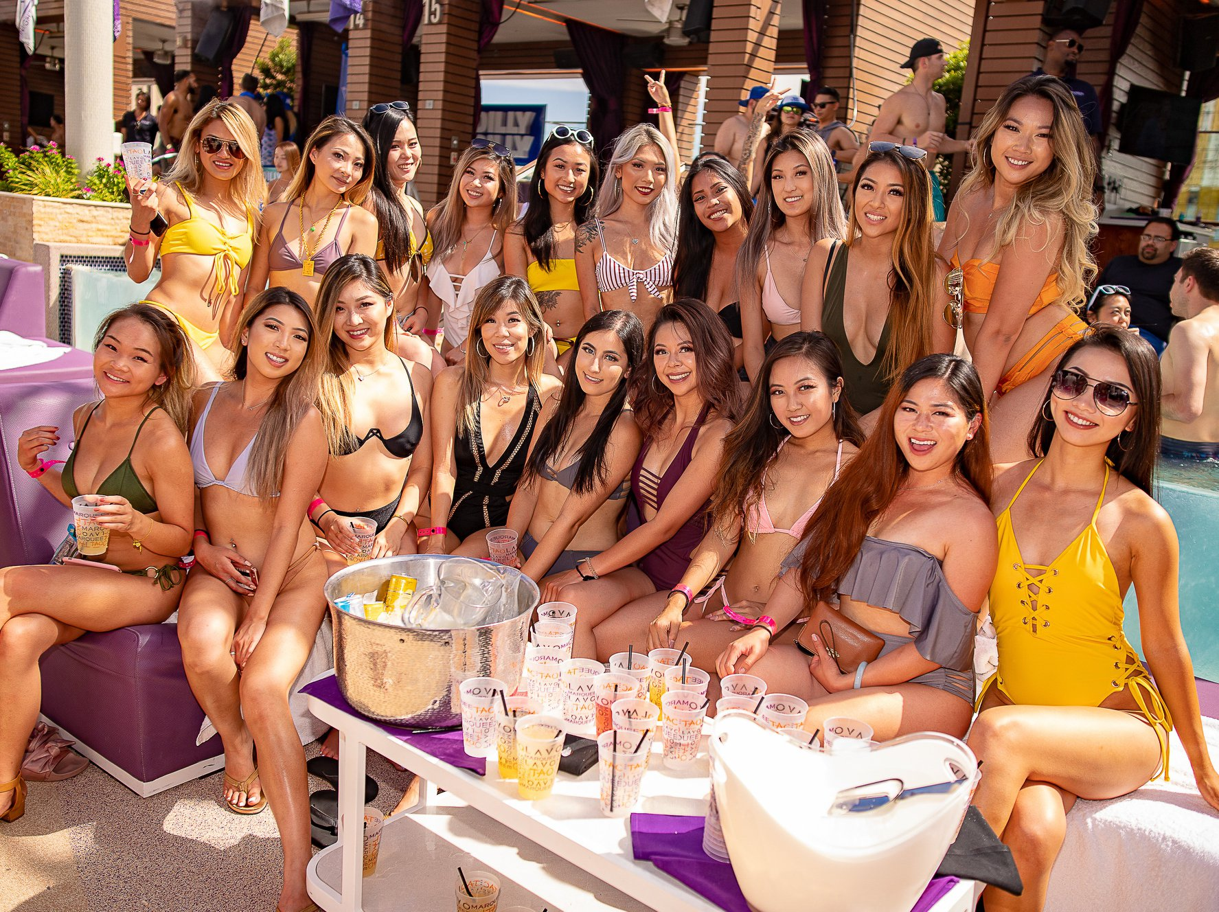 marquee dayclub bachelorette party