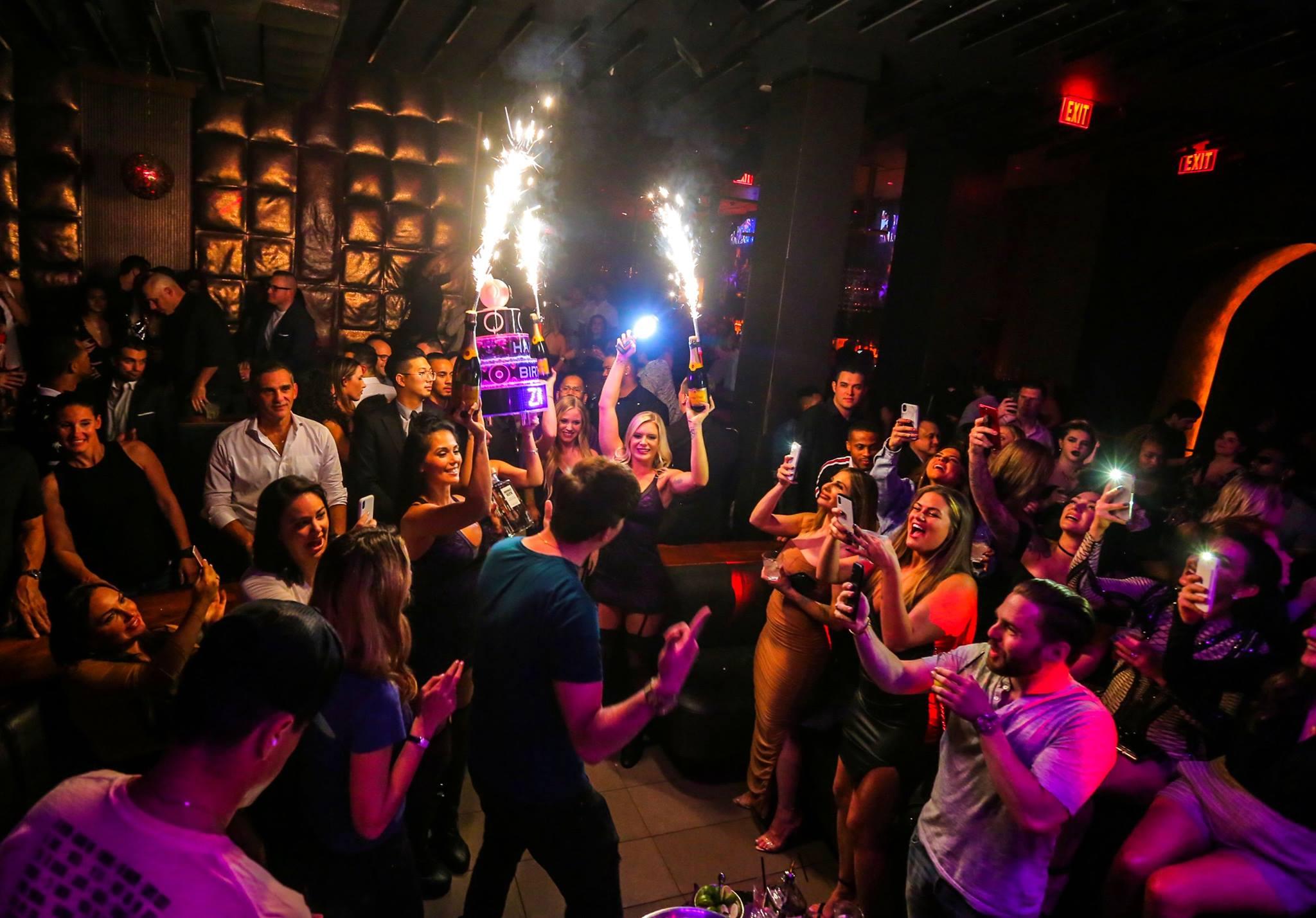marquee nightclub elevated dance floor bottle service