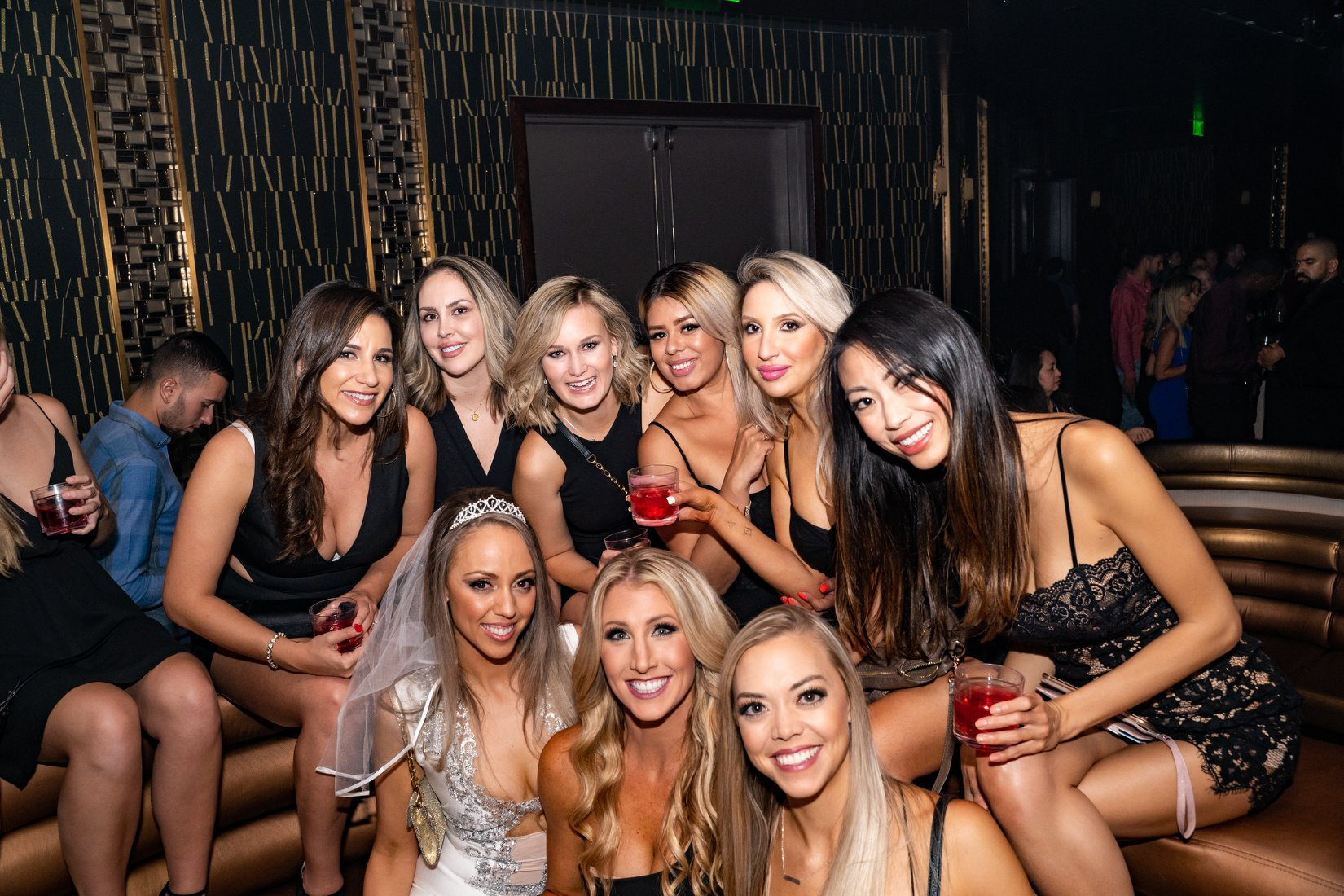 omnia LV bachelorette party