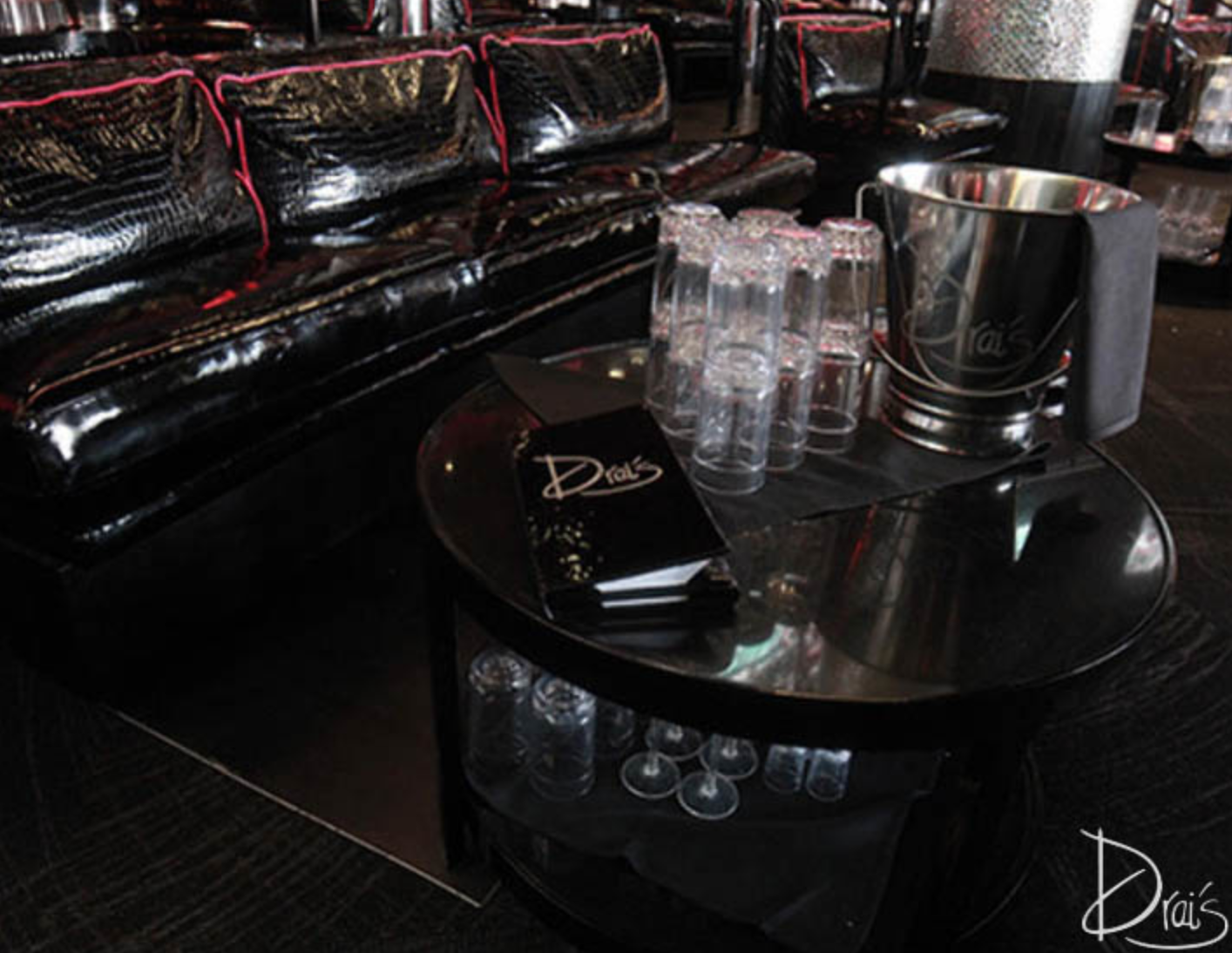 Drai's Banquette Table