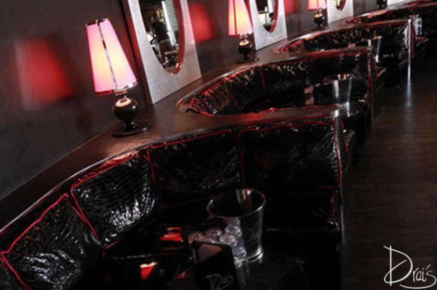 Drai's Elevated VIP Booth