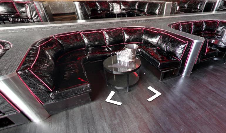 Drai's Nightclub Dance Floor Table