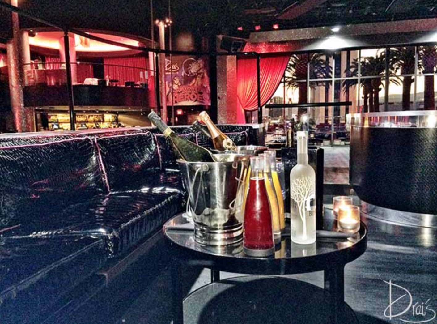 Drai's Nightclub Stage Table