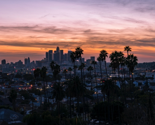 Image of Los Angeles at Sunset