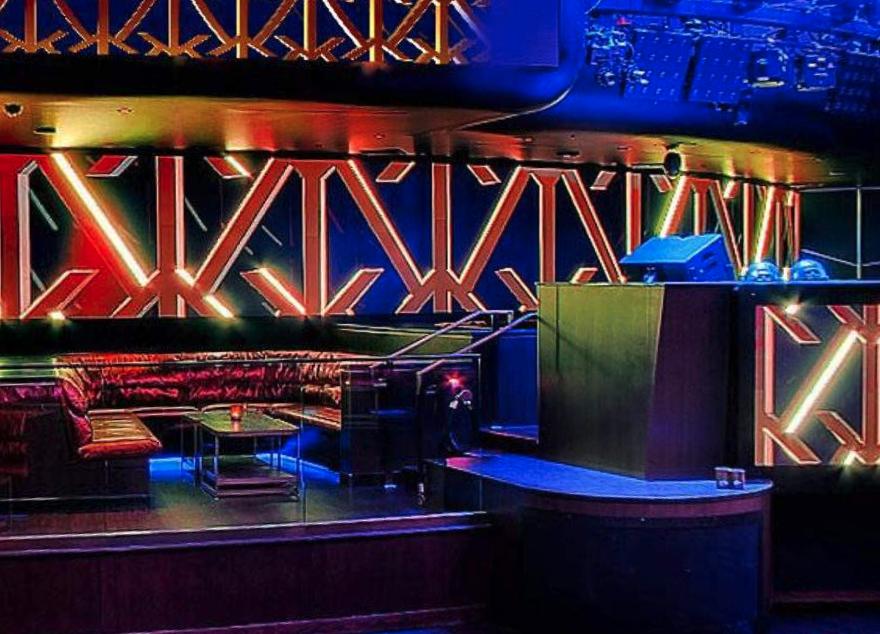 Hakkasan DJ Stage Table
